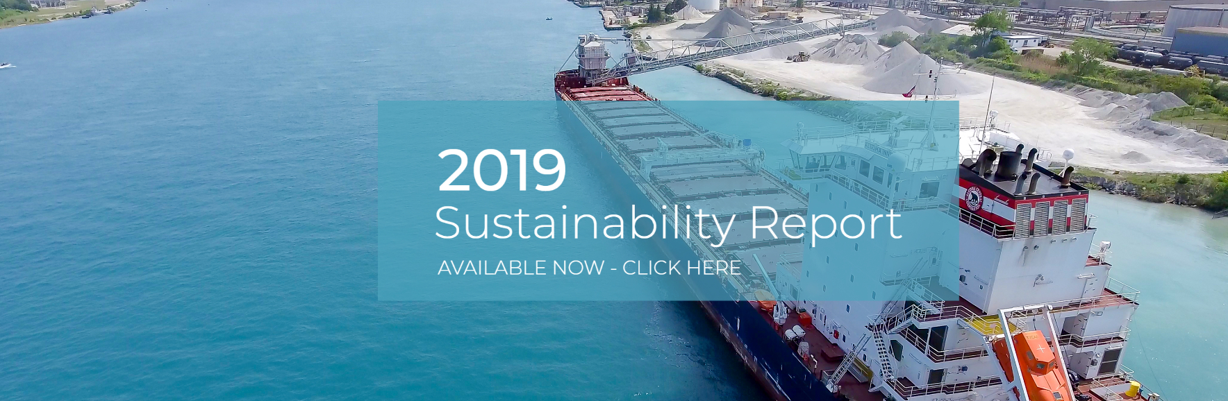2019 Sustainability Report Post – Banner Desktop