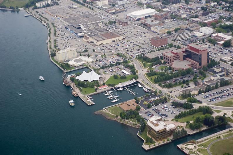 Sault Ste. Marie waterfront