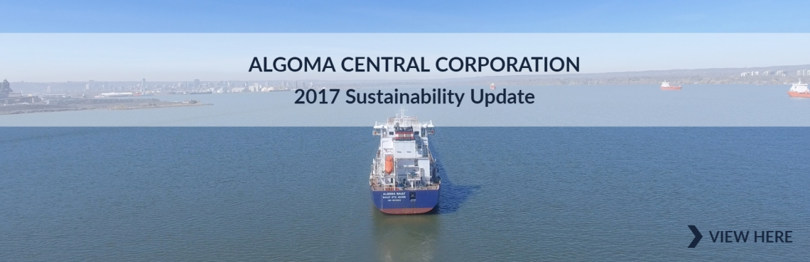 Sustainability Report Banner 2018