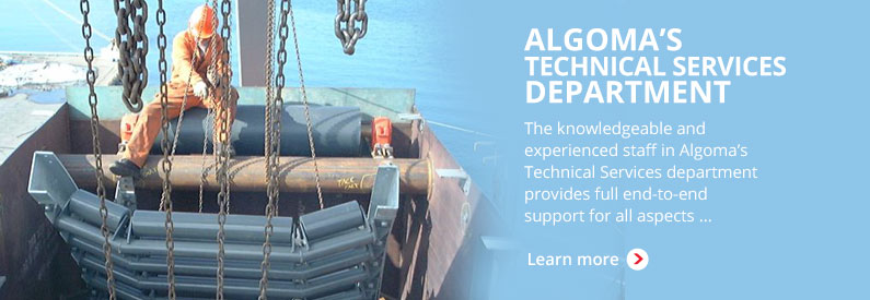 Algoma's Technical Services Department